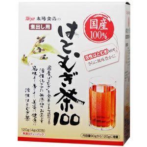太陽食品の 国産活性はとむぎ茶100 4g×30包
