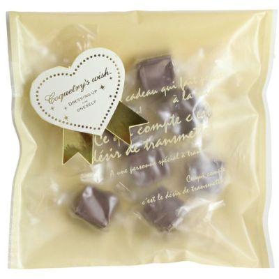 バレンタイン】 ナチュラルチョコレート・ビター 8粒|むそう商事