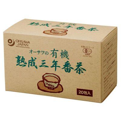 オーサワの有機熟成三年番茶(ティーバッグ) 1.8g×20包 36g