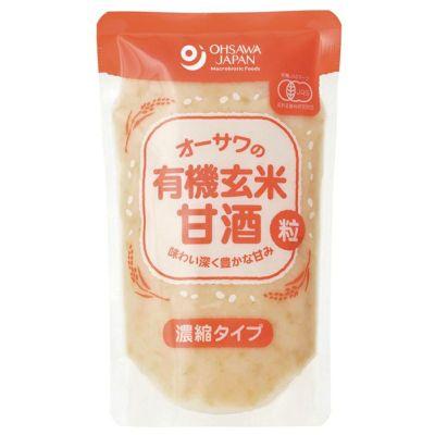 オーサワの有機玄米甘酒(粒)