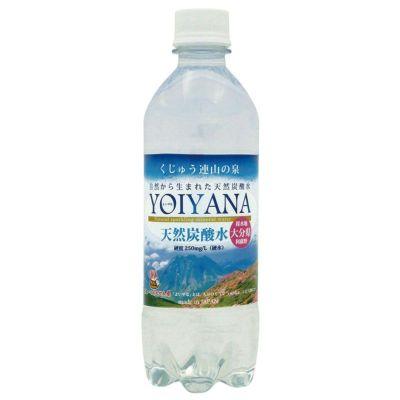 天然炭酸水 YOIYANA 500ml