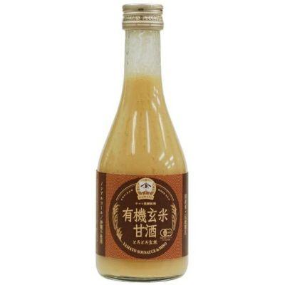 有機玄米甘酒とろとろ玄米 300ml