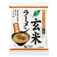オーサワのベジ玄米ラーメン(担担麺)