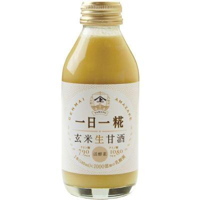 生玄米甘酒 一日一糀・乳酸菌入り 140ml