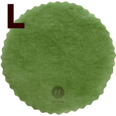 みつろうラップ・ひすい色L(直径約33cm)