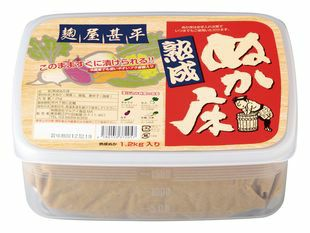麹屋甚平(こうじやじんべい) 熟成ぬか床(容器付) 1.2kg|マルアイ食品