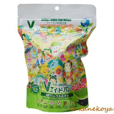 Vエイド保存パン 抹茶クロレラ&あずき 1個|東京ファインフーズ