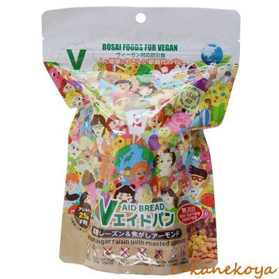 Vエイド保存パン 黒糖レーズン&焦がしアーモンド 1個 東京ファインフーズ