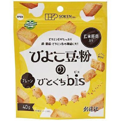 ひよこ豆粉のひとくちbis(プレーン) 40g