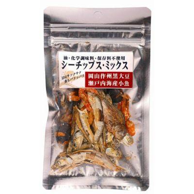 シーチップス・ミックス(豆&魚) 15g